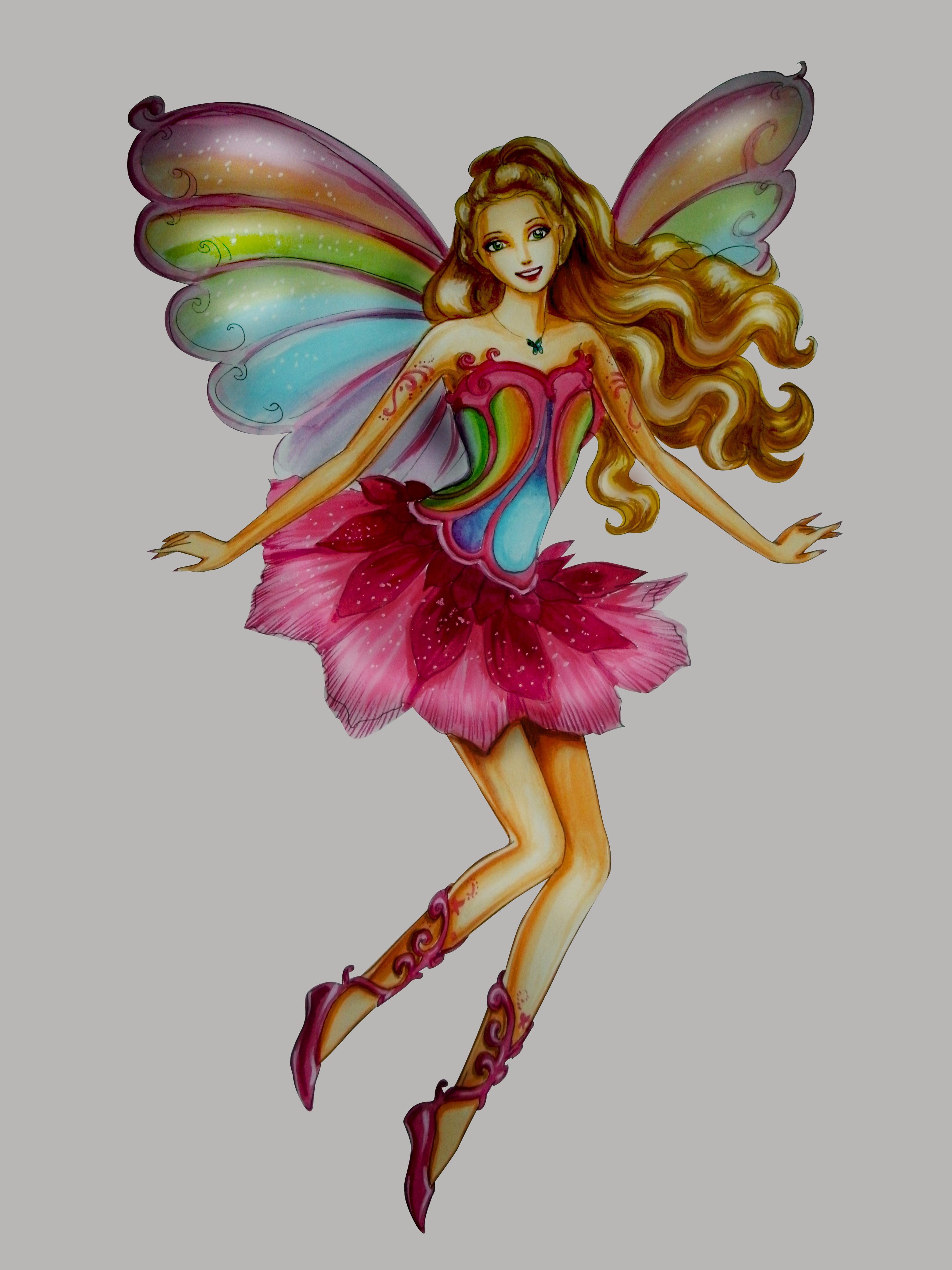 barbie Magic of the arco iris