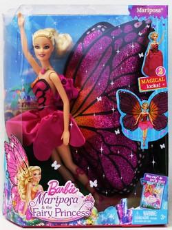 バービー Mariposa and the Fairy Princess ドール