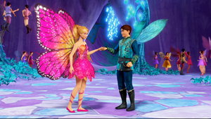 Barbie Mariposa and the Fairy Snapshots
