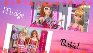 Barbie & Midge دوستوں FOREVER
