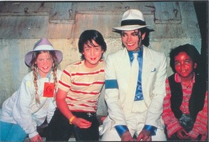 "Behind The Scenes On The Making Of ""Moonwalker"""