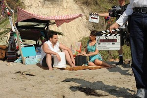 """Behind the Scenes foto from NEW GIRL - """"All In"""""""