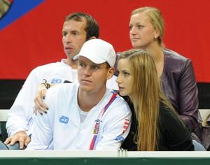 Berdych Stepanek Kvitova Satorova.