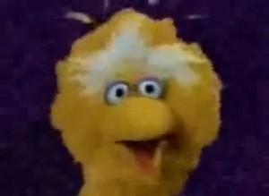 """Big Bird says """"Toodle-Loo"""""""