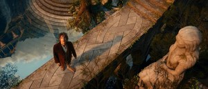 Bilbo Baggins in Rivendell