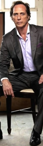 William Fichtner দেওয়ালপত্র containing a business suit, a suit, and a pinstripe titled Bill