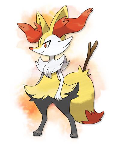Pokémon fond d'écran possibly containing animé called Braixen