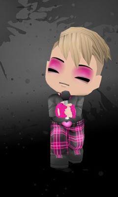 Buddy Poke rosa, -de-rosa