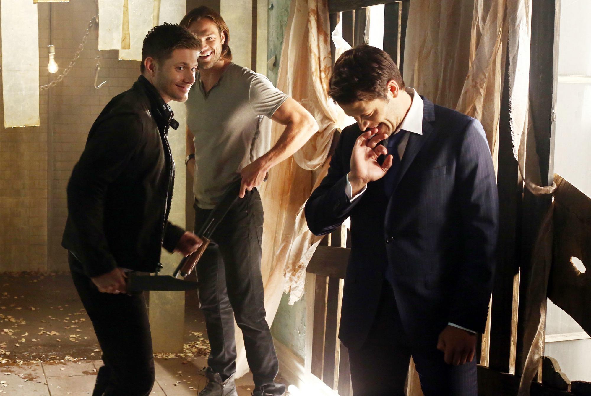 Jared Padalecki Misha Collins Images CW