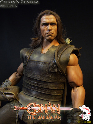 Calvin's Custom One Sixth Conan the Barbarian figure