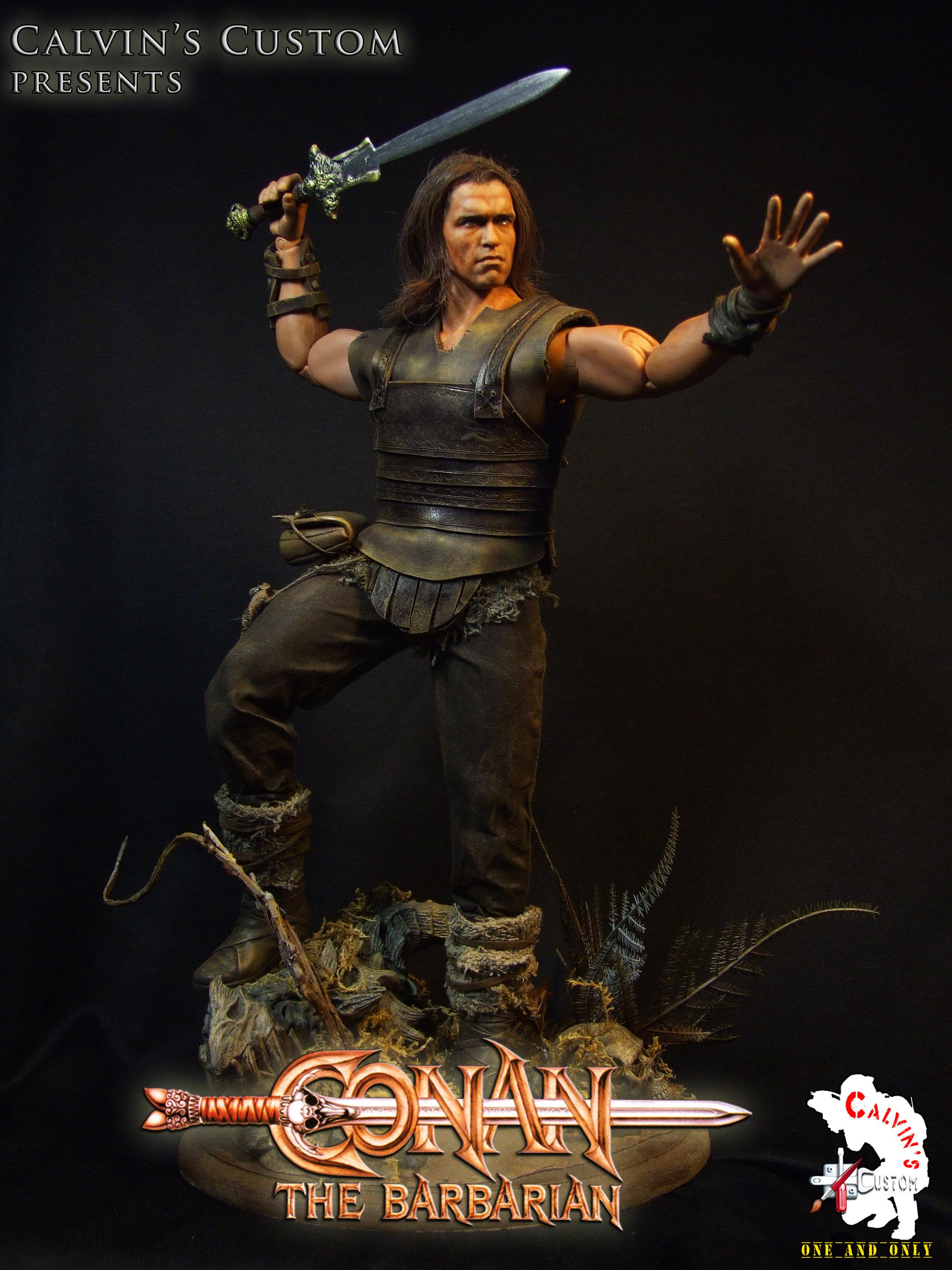 Calvin's Custom One Sixth Conan the Barbarian figure ... Arnold Schwarzenegger Quotes