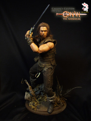 Calvin's Custom One Sixth Conan the Barbarian figure