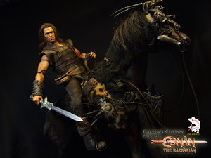 Calvin's Custom One Sixth scale Conan the Barbarian custom figure