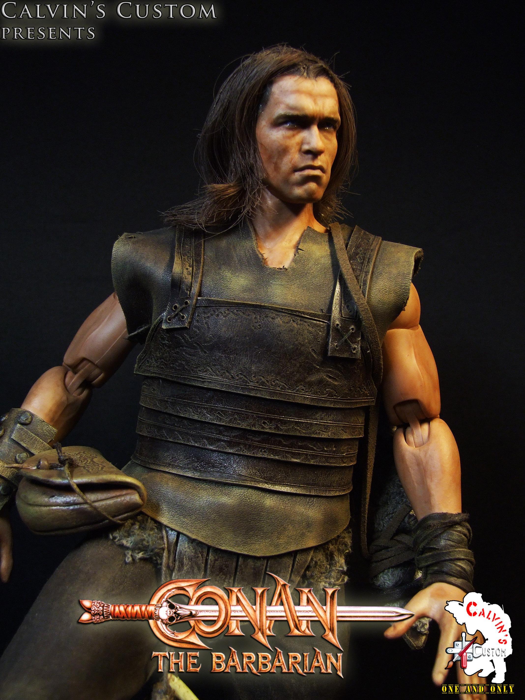 Calvin's Custom One Sixth scale Conan the Barbarian custom figure