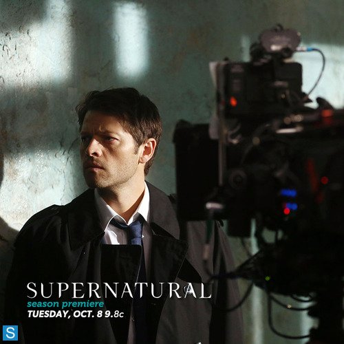 Castiel wallpaper probably with a business suit entitled Castiel Season 9 Promotional Picture
