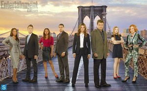 замок - Season 6 - New Group Promotional Cast фото