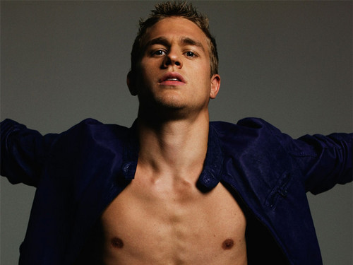 Fifty Shades of Grey Hintergrund with a stück, hunk titled Christian Grey/Charlie Hunnam