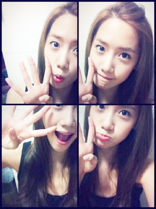 Im yoonA fond d'écran probably containing a portrait called Cute Yoona