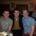 Damian, Oran & Darrell Celebrating Damo's 21st Birthday in Ireland