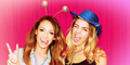 Danielle and Josie in the Jeans for Genes photobooth - danielle-peazer photo