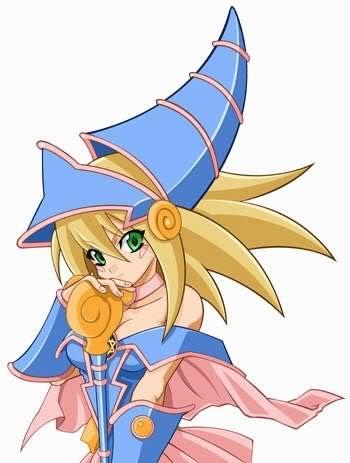 Kawaii Anime wallpaper called Dark Magician Girl