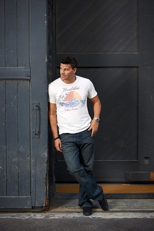 David Boreanaz at the 2013 volpe Image Campaign.