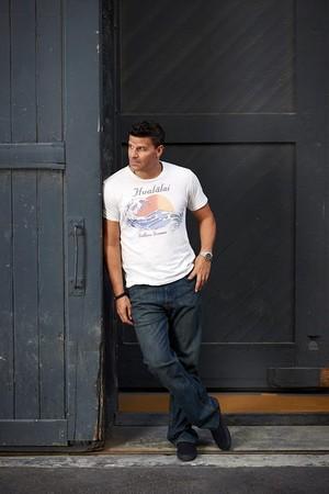David Boreanaz at the 2013 renard Image Campaign.