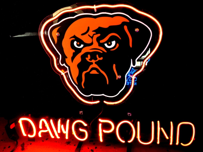 Dawg Pound Neon Cleveland Browns Photo 35500942 Fanpop