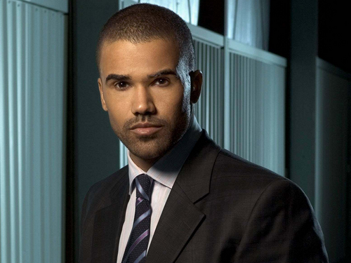 Criminal Minds achtergrond with a business suit, a suit, and a three piece suit titled Derek morgan