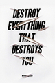 Destroy - quotes photo