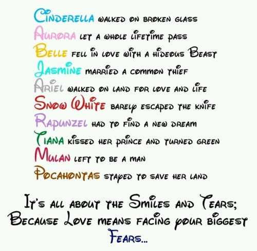 Disney Couples wallpaper entitled Disney Couples Poem