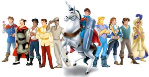 Disney Prince lineup