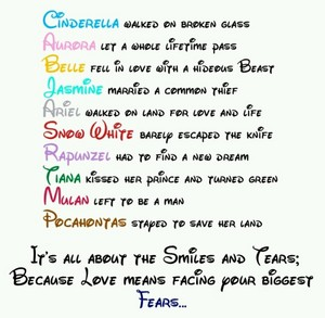 Disney Princess Couples Poem