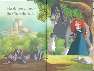 Disney Princesses and Anak Anjing