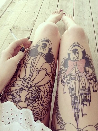 Tattoos images disney tattooed wallpaper and background for Tattoo art club