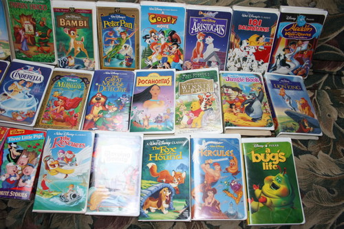 VHS Images Disney VHS Tape Collection #2 HD Wallpaper And