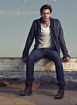 Dominic Sherwood photoshoot