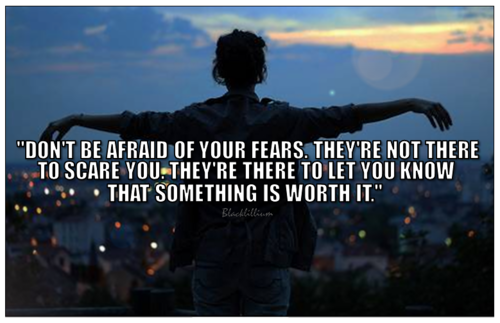 Quotes wallpaper called Don't Be Afraid