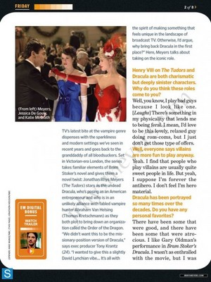EW Fall TV pratonton Sept 20th 2013 Magazine