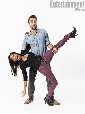 EW Nicole Behaire & Tom Mison