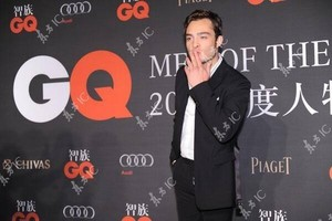 Ed Westwick at the 2013 GQ China Men of the سال Award ceremony