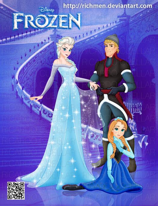 frozen and anna kristoff Disney