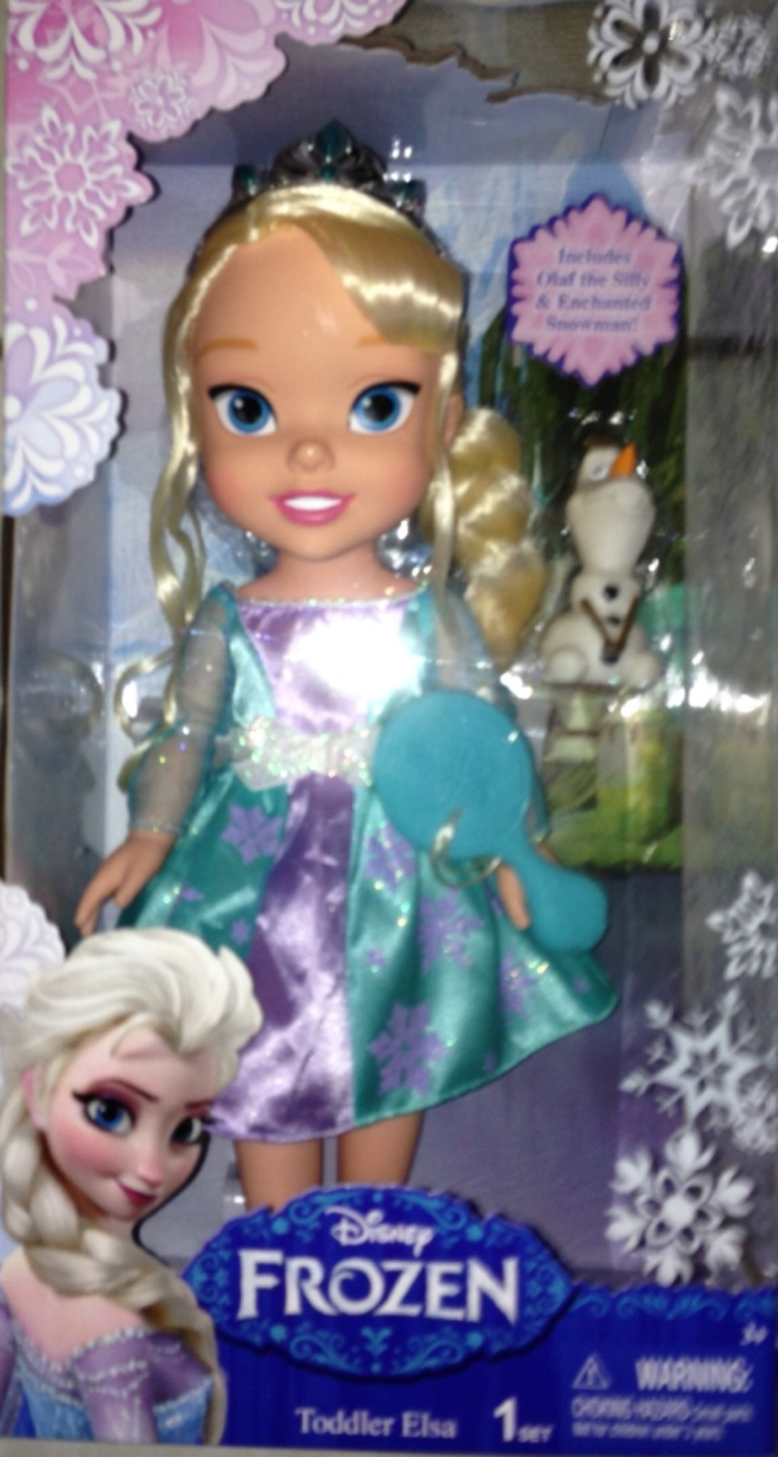 Elsa Toddler Doll