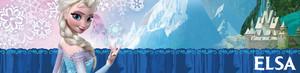 Elsa UK Disney Store Banner