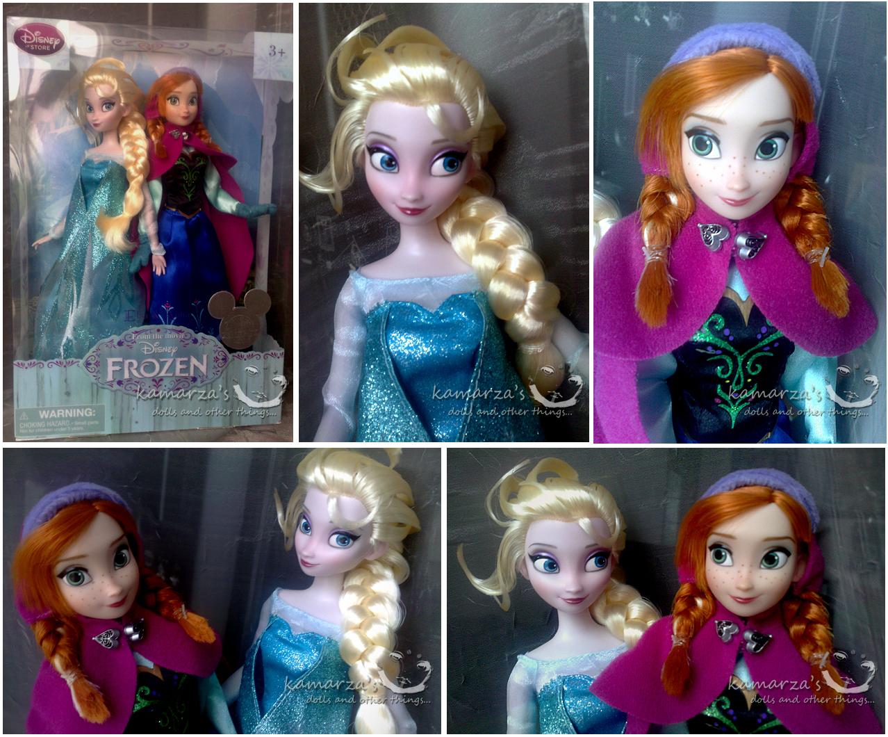 Frozen Gambar Elsa And Anna Boneka Hd Wallpaper And Background Foto