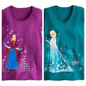 Elsa and Anna Disney Store T-shirt