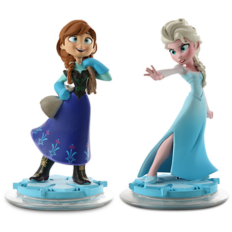 Elsa and Anna in Disney Infinity