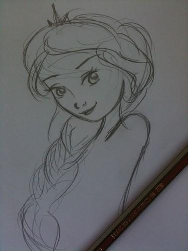 Elsa the Snow क्वीन वॉलपेपर entitled Elsa