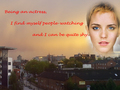 Emma watching people - emma-watson fan art