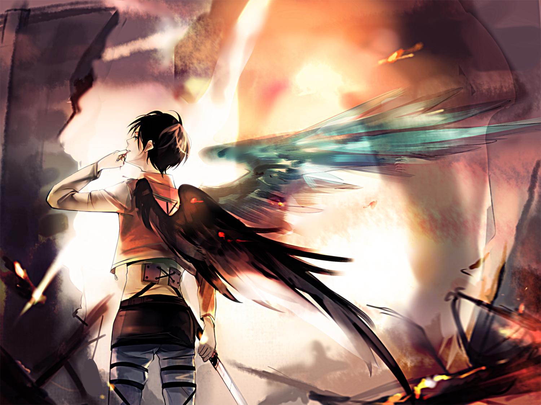 Eren jaeger titan wallpaper